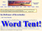 Word Tent